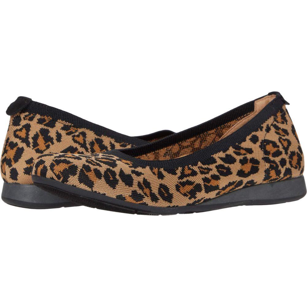 コンフォーティヴァ Comfortiva レディース シューズ・靴 【Gildee】Leopard Print Knit Mesh