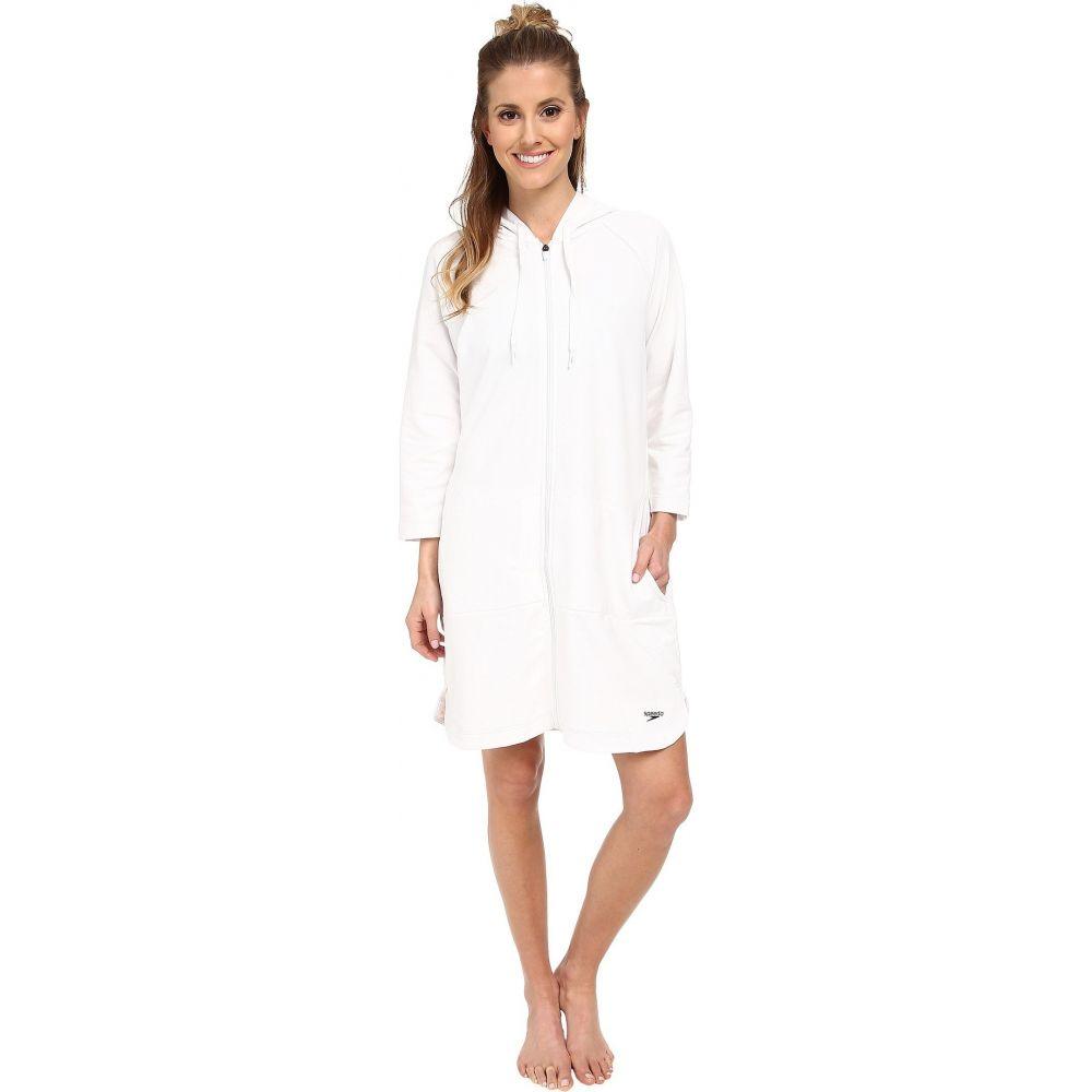 スピード Speedo レディース ビーチウェア ローブ 水着・ビーチウェア【Aquatic Fitness Robe】White