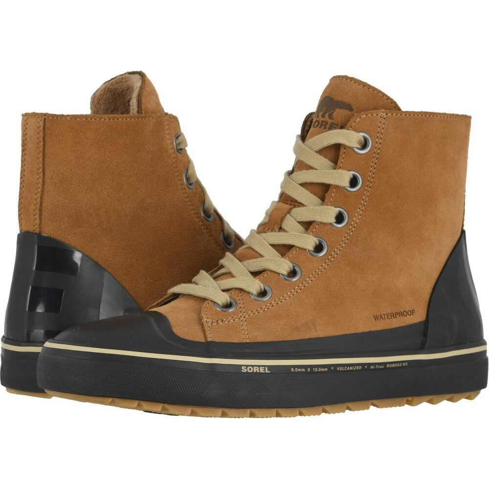 ソレル SOREL メンズ シューズ・靴 【Cheyanne(TM) Metro Hi Waterproof】Elk/Black