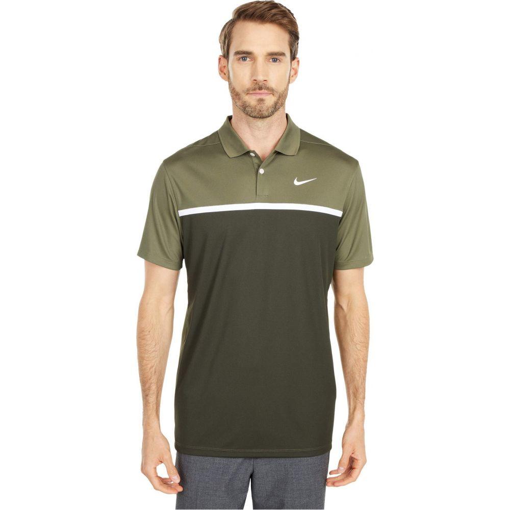 ナイキ Nike Golf メンズ ポロシャツ トップス【Dry Victory Polo CB】Medium Olive/Sequoia/White/White