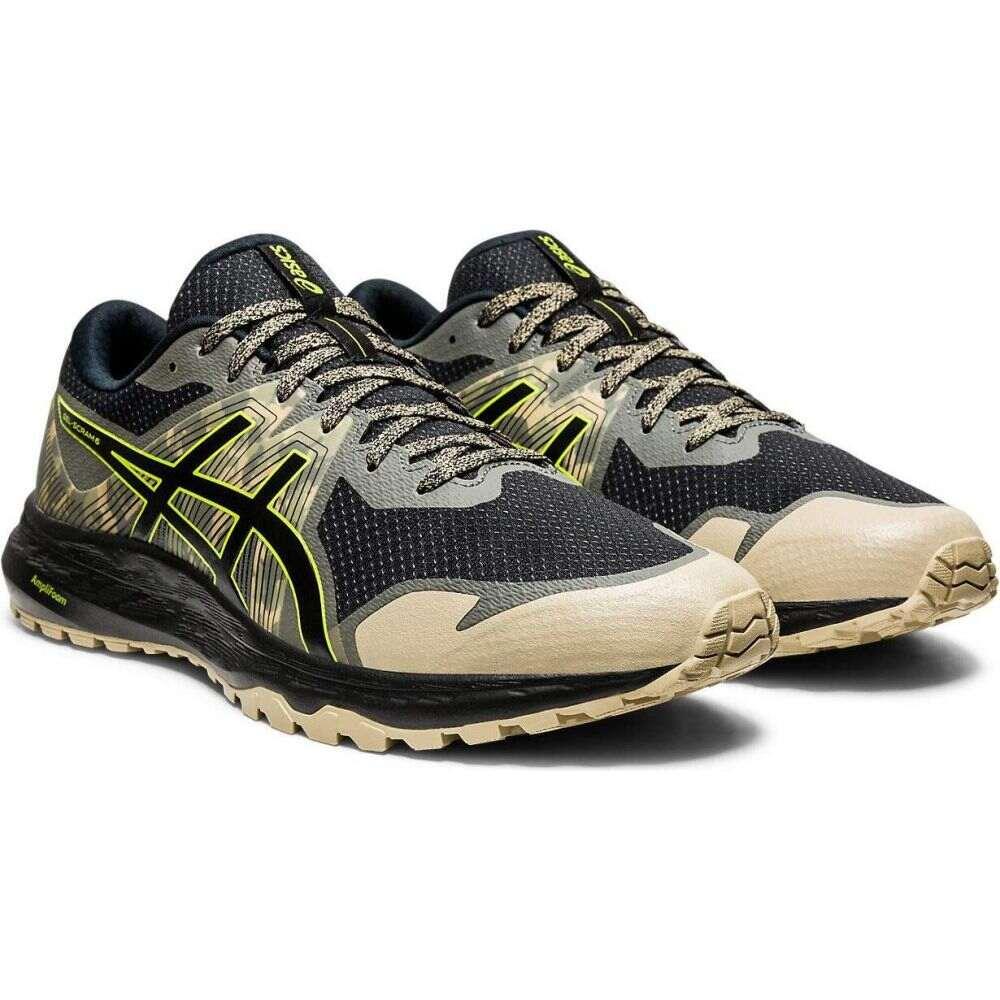アシックス ASICS メンズ ランニング・ウォーキング シューズ・靴【GEL-Scram 6】Black/Neon Lime