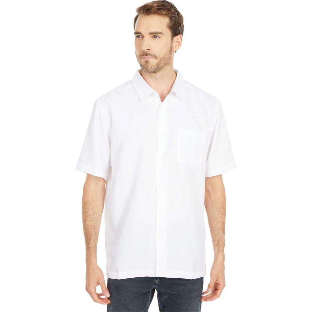 クイックシルバー Quiksilver Waterman メンズ 半袖シャツ トップス【Centinela 4 Short Sleeve Shirt】White