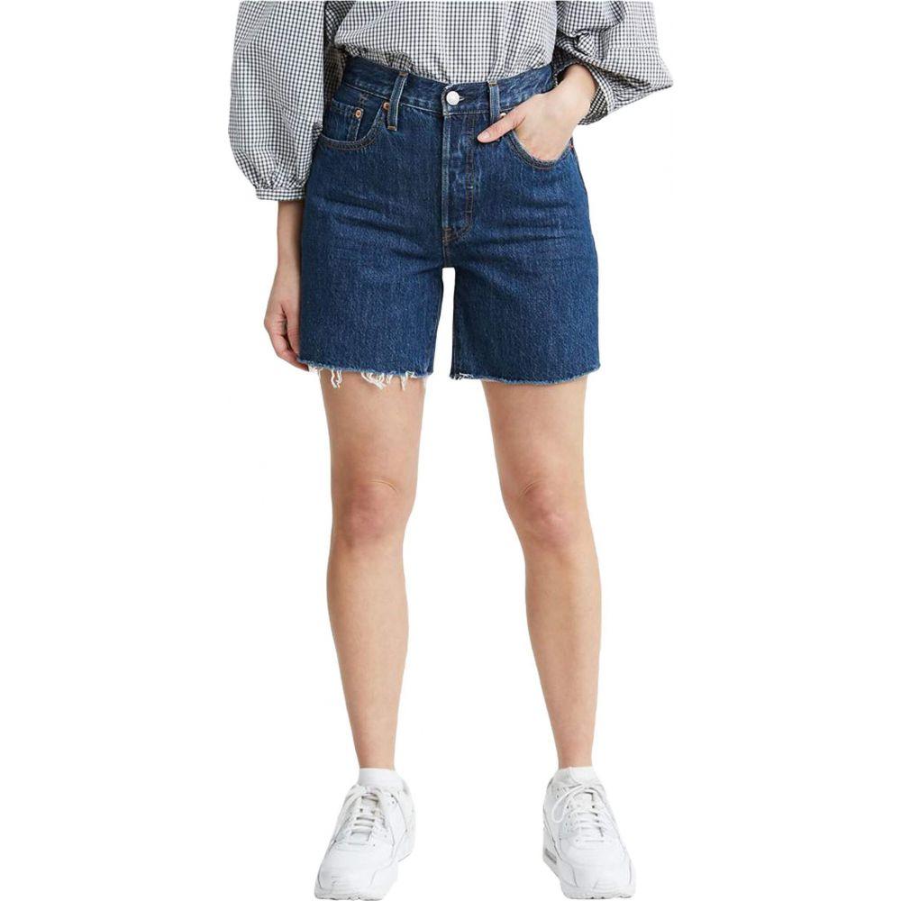 リーバイス Levi's Womens レディース ショートパンツ ボトムス・パンツ【501 Mid Thigh Shorts】Sansome Stonewash