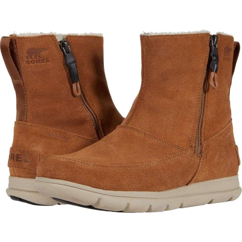 ソレル SOREL レディース シューズ・靴 【Sorel(TM) Explorer Zip】Camel Brown