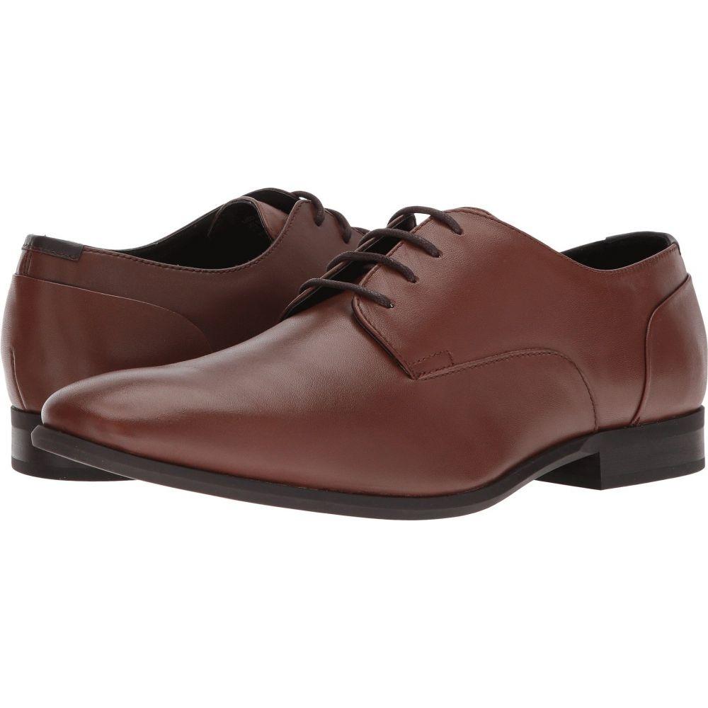 カルバンクライン Calvin Klein メンズ シューズ・靴 【Lucca Dress】Tan Calf Leather