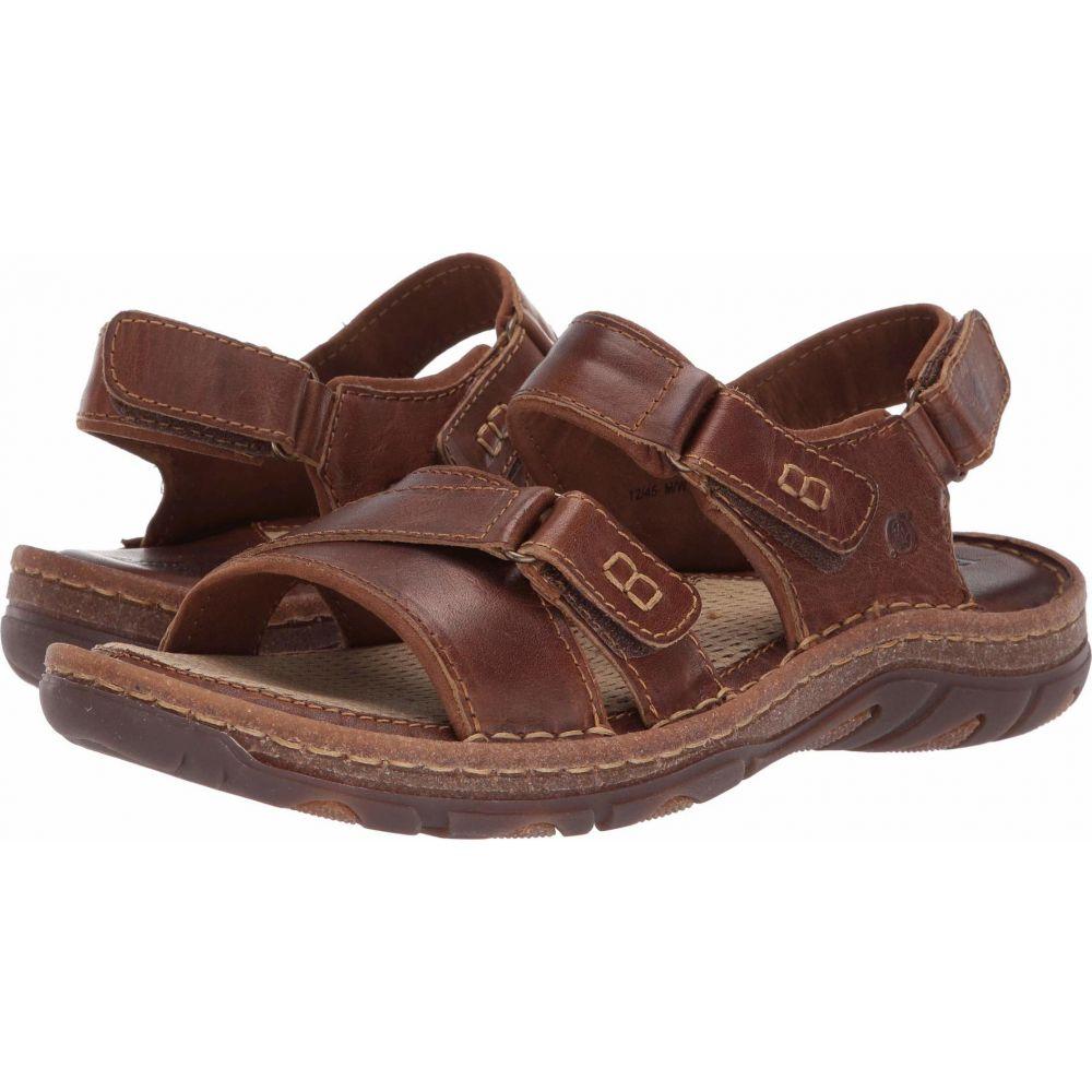 ボーン Born メンズ シューズ・靴 【Custer】Brown Full Grain Leather