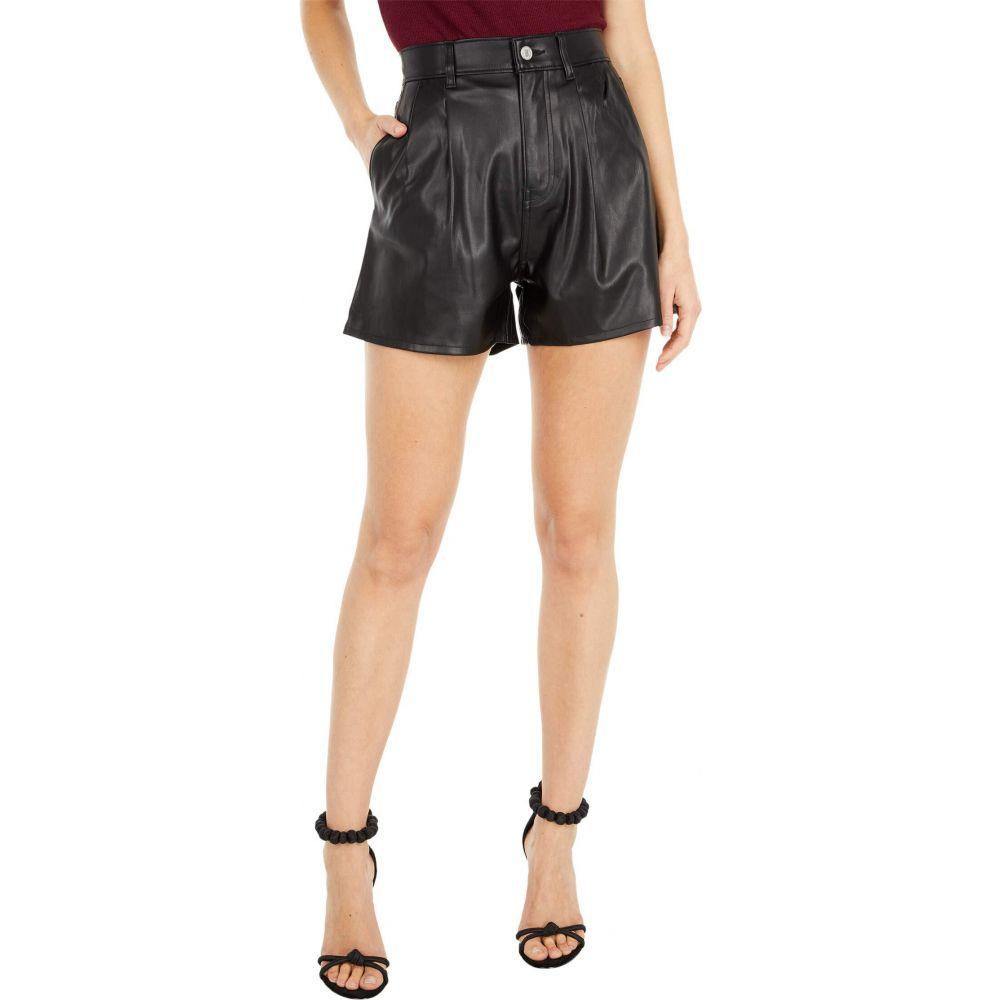 リーバイス Levi's Premium レディース ショートパンツ ボトムス・パンツ【High-Rise Faux Leather Shorts】Leather Night