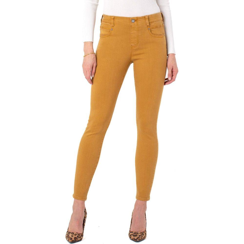 リバプール Liverpool レディース ジーンズ・デニム ボトムス・パンツ【Gia Glider Ankle Skinny Pull-On Jeans in Honey】Honey