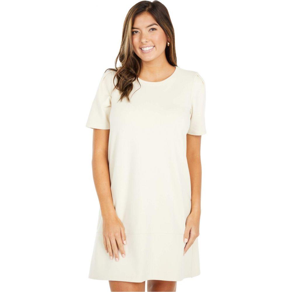 リラピー Lilla P レディース ワンピース ワンピース・ドレス【Short Sleeve A-Line Dress in Brushed Terry】Birch
