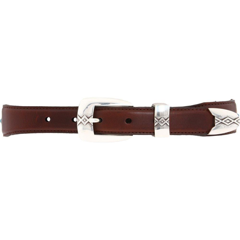 ブライトン Brighton メンズ ベルト 【Cody Turquoise Taper Belt】Brown/Black