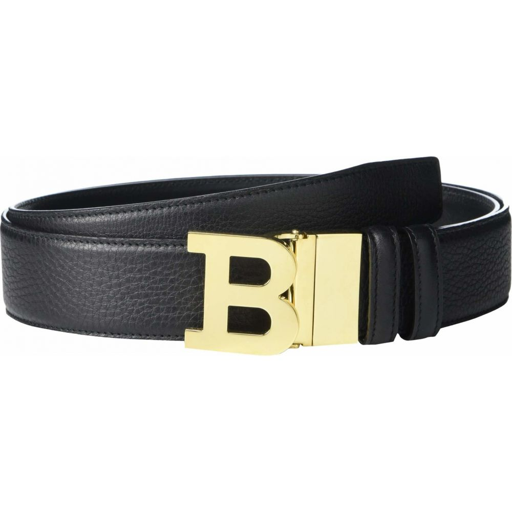 バリー Bally メンズ ベルト 【B Buckle 40 M/490 Adjustable/Reversible Belt】Black