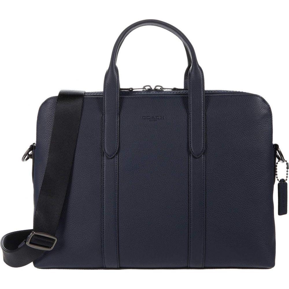 コーチ COACH メンズ ビジネスバッグ・ブリーフケース バッグ【Metropolitan Soft Briefcase】QB/Deep Blue