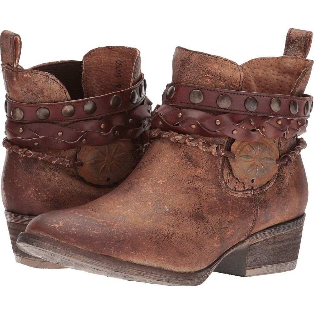 コラル Corral Boots レディース シューズ・靴 【Q5003】Brown
