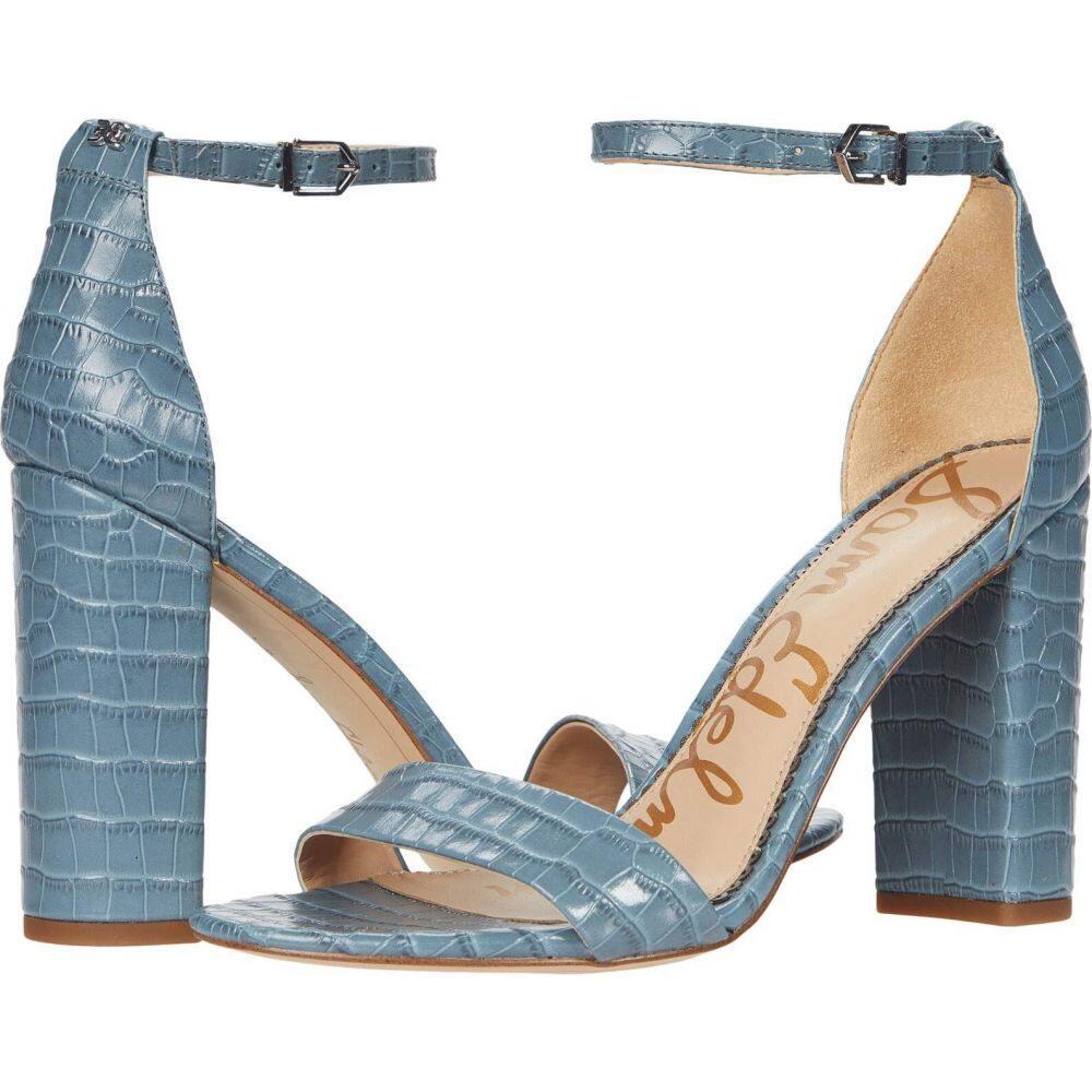 サム エデルマン Sam Edelman レディース シューズ・靴 【Yaro】Smokey Blue Lucea Dress Croco Leather