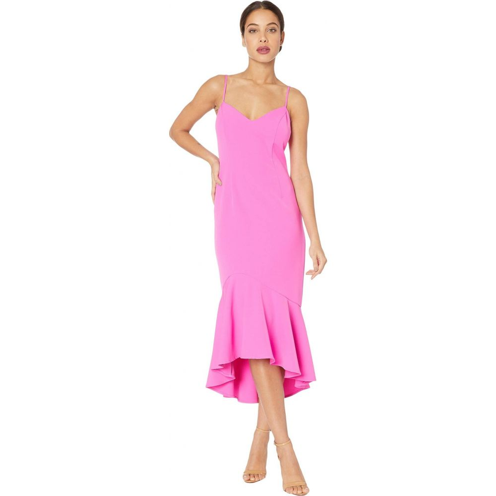 バルドー Bardot レディース ワンピース ミドル丈 ワンピース・ドレス【Lisandra Midi Dress】Pink Shock