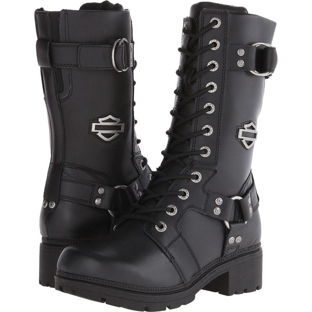 ハーレーダビッドソン Harley-Davidson レディース シューズ・靴 【Eda】Black