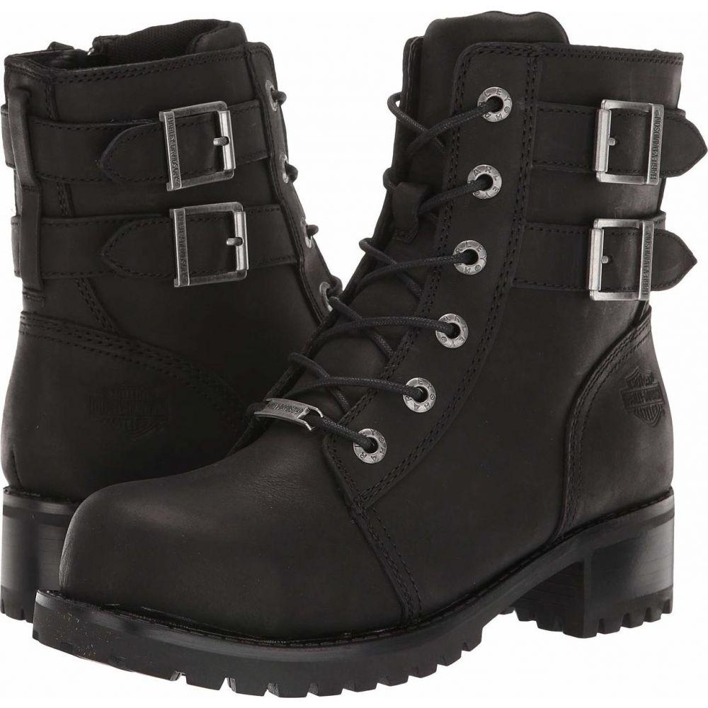 ハーレーダビッドソン Harley-Davidson レディース シューズ・靴 【Archer Steel Toe】Black