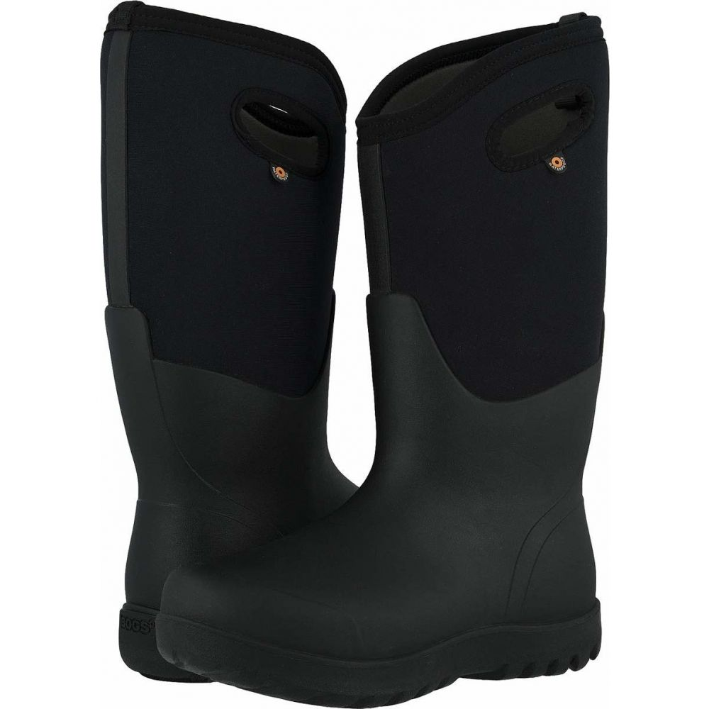 ボグス Bogs レディース シューズ・靴 【Neo Classic Tall Wide】Black
