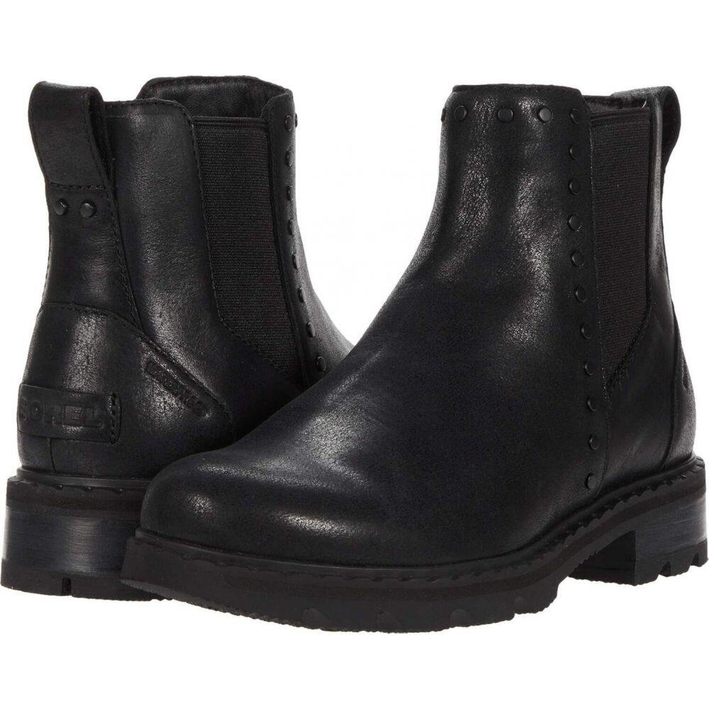 ソレル SOREL レディース ブーツ シューズ・靴【Lennox(TM) Chelsea Stud】Black