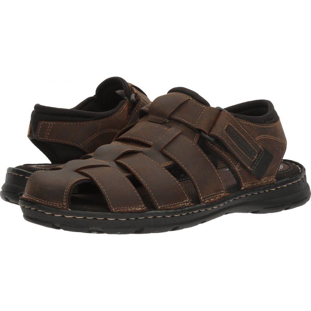 ロックポート Rockport メンズ シューズ・靴 【Darwyn Fishermen】Brown II Leather