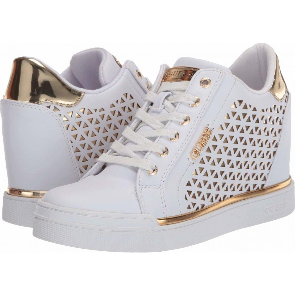 ゲス GUESS レディース シューズ・靴 【Flowurs】White