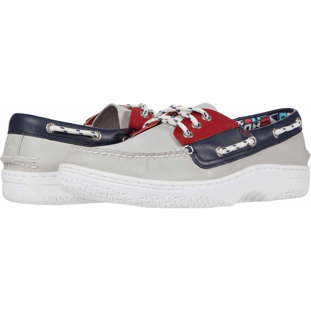 スペリートップサイダー Sperry メンズ シューズ・靴 【Billfish Plushwave Nautical】Red/White