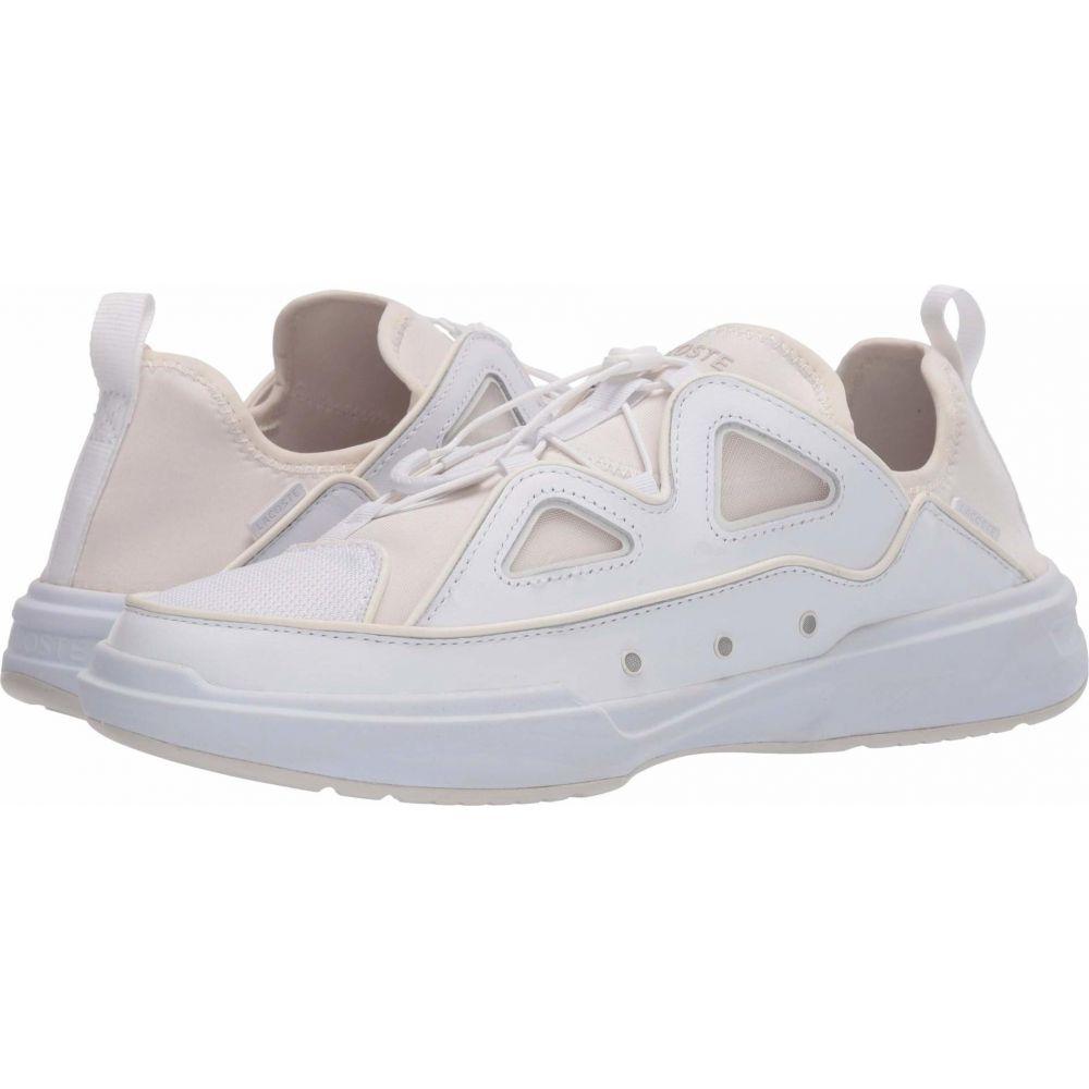 ラコステ Lacoste メンズ シューズ・靴 【Gennaker 42 120 1】White/Off-White