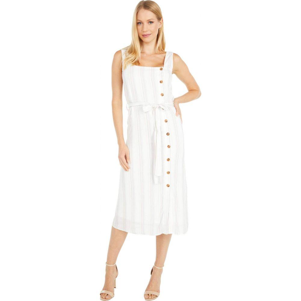 ロストアンドワンダー LOST + WANDER レディース ワンピース ミドル丈 ワンピース・ドレス【Song Of Summer Midi Dress】White Multi