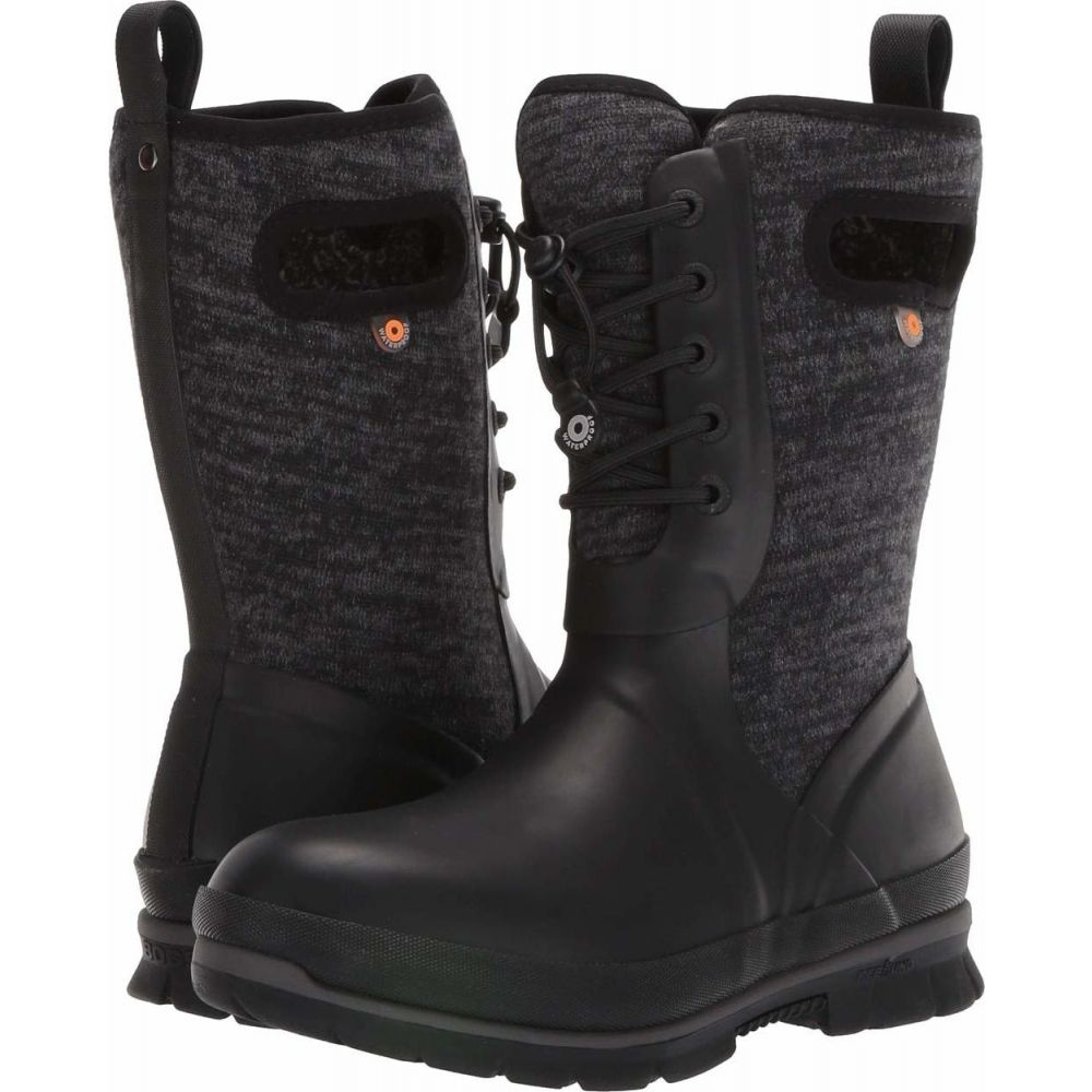 ボグス Bogs レディース シューズ・靴 【Crandall Lace Knit】Black Multi