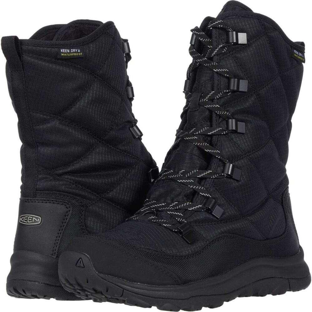 キーン KEEN レディース ブーツ レースアップブーツ シューズ・靴【Terradora II Lace Up Waterproof Boot】Black/Black