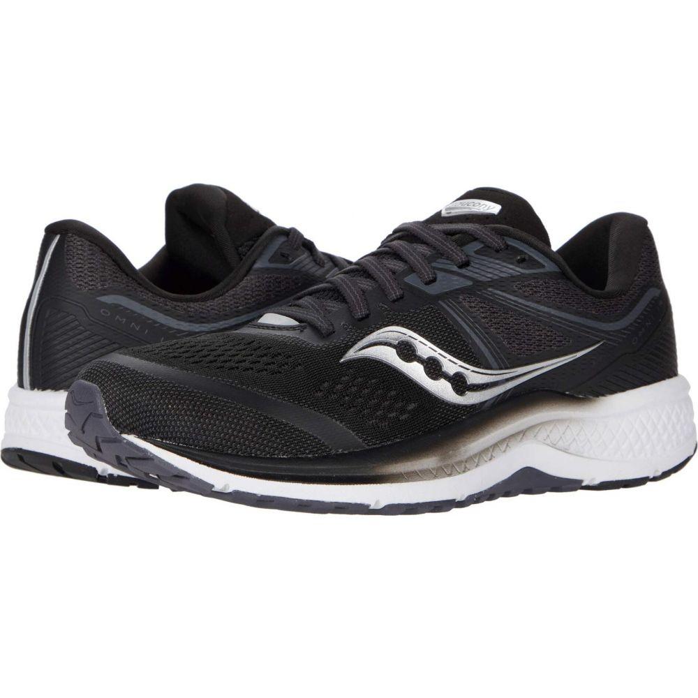 サッカニー Saucony レディース シューズ・靴 【Omni 19】Black/White
