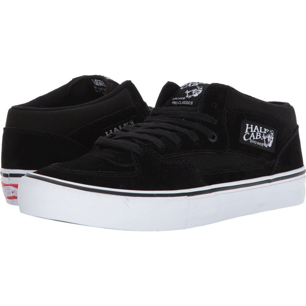 ヴァンズ Vans レディース シューズ・靴 【Half Cab Pro】Black/Black/White