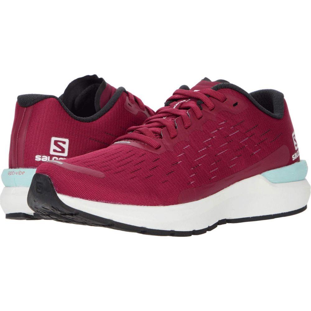 サロモン Salomon レディース シューズ・靴 【Sonic 3 Balance】Beet Red/White/Kentucky Blue