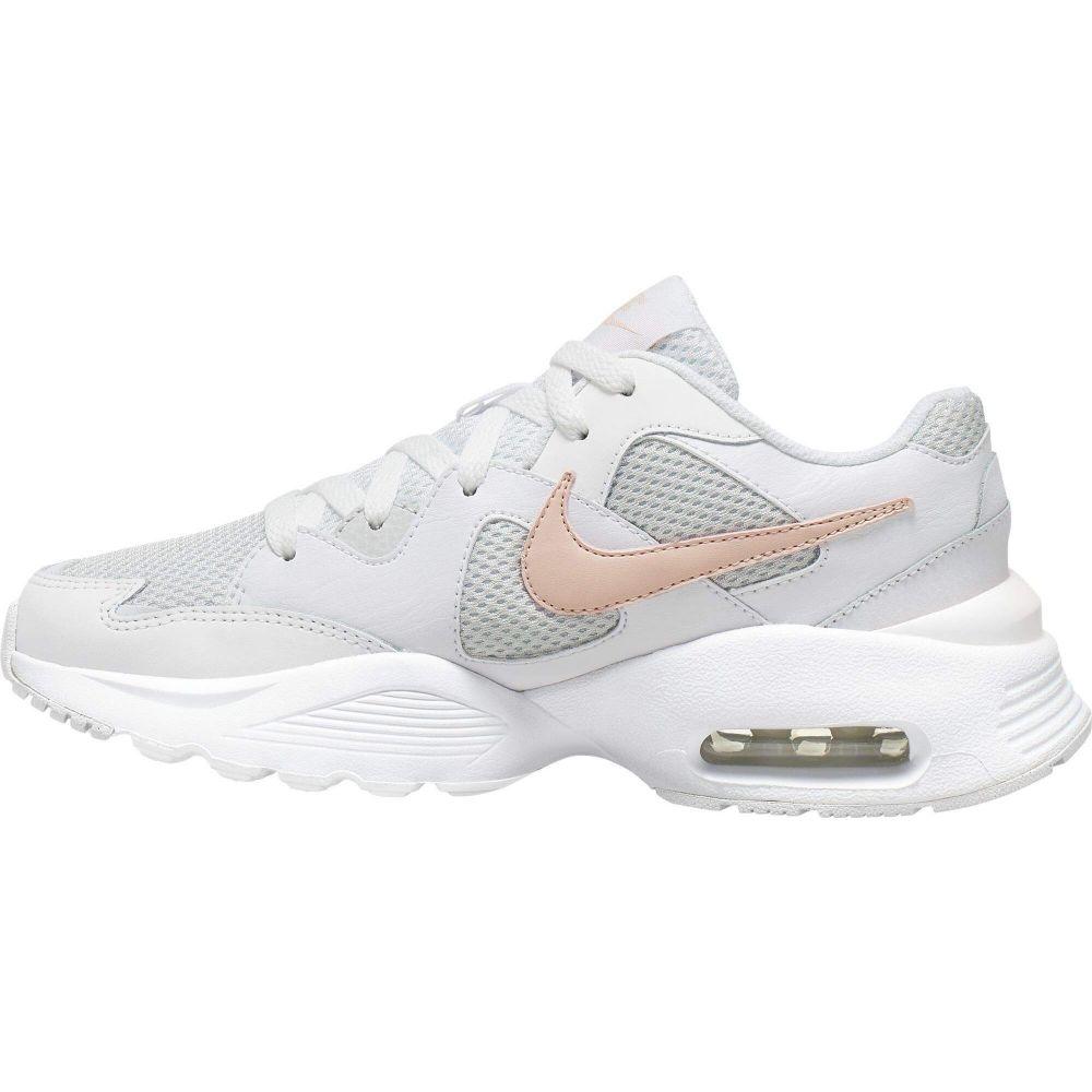 ナイキ Nike レディース シューズ・靴 【Air Max Fusion】White/Washed Coral/Photon Dust