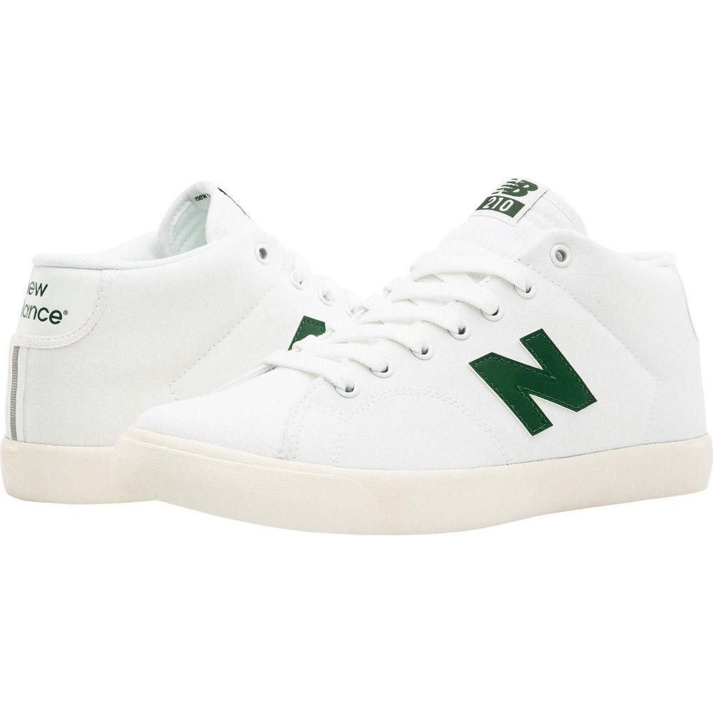 ニューバランス New Balance Numeric レディース シューズ・靴 【210 Mid】White/Green