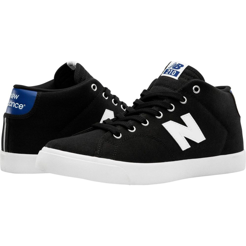 ニューバランス New Balance Numeric レディース シューズ・靴 【210 Mid】Black/Blue