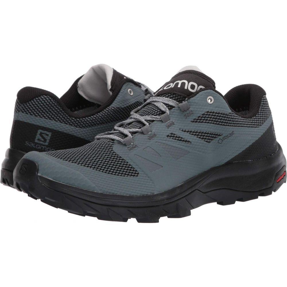 サロモン Salomon レディース シューズ・靴 【Outline GTX】Stormy Weather/Black/Lunar Rock