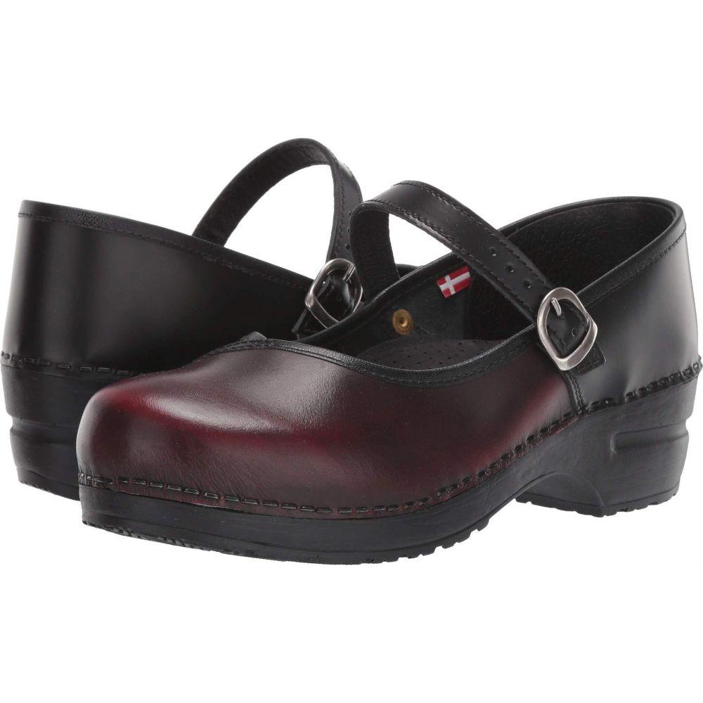 サニタ Sanita レディース シューズ・靴 【Everly】Black/Bordeaux
