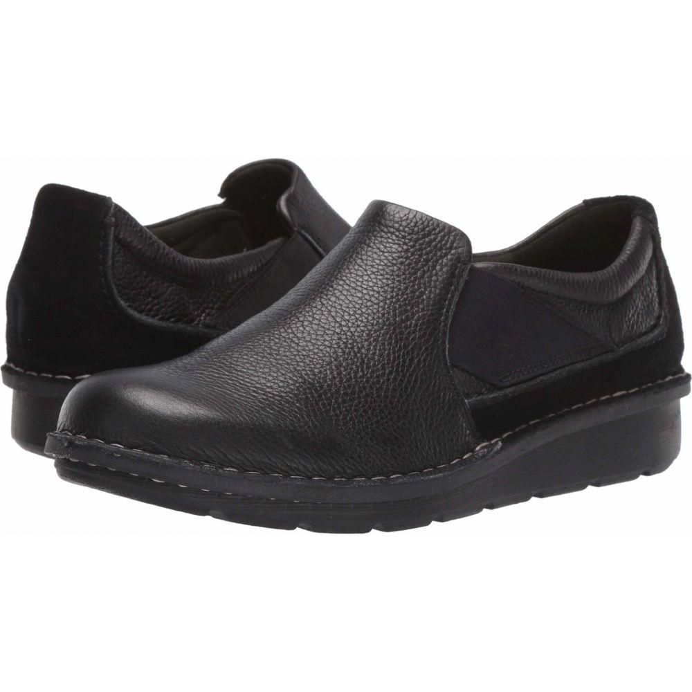 クラークス Clarks レディース シューズ・靴 【Michela Coast】Black Leather/Suede Combi