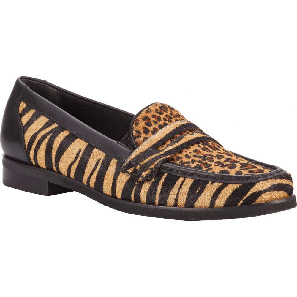 ウォーキング クレードル Walking Cradles レディース シューズ・靴 【Winnie】Tan Zebra Haircalf/Tan Mini Cheetah/Black Leather