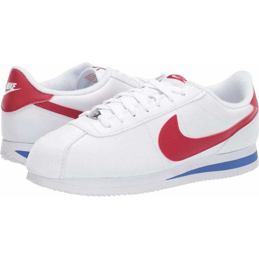 ナイキ Nike メンズ シューズ・靴 【Cortez Leather】White/Varsity Red/Varsity Royal
