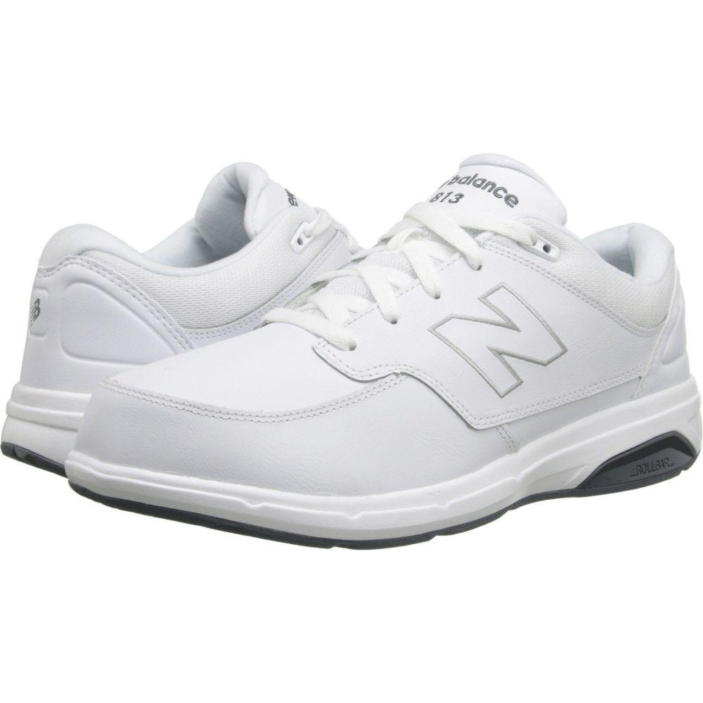 ニューバランス New Balance メンズ シューズ・靴 【MW813】White/White