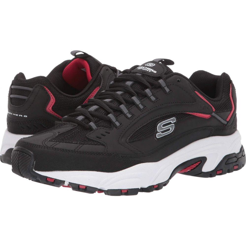スケッチャーズ SKECHERS メンズ シューズ・靴 【Stamina Cutback】Black/Red