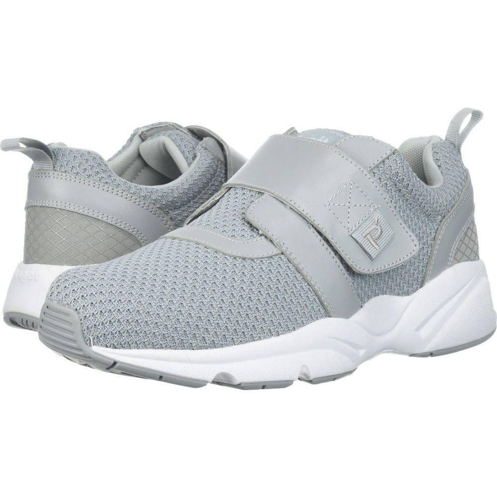 プロペット Propet メンズ シューズ・靴 【Stability X Strap】Light Grey