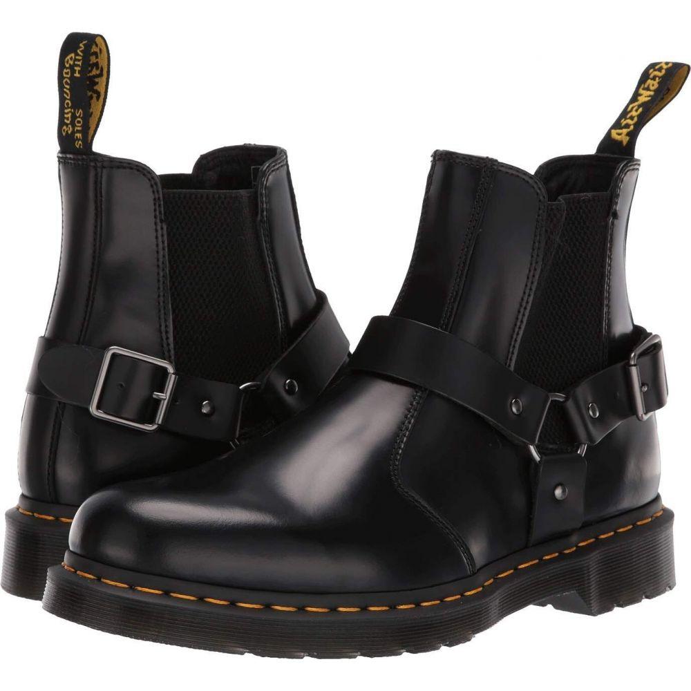 ドクターマーチン Dr. Martens レディース ブーツ シューズ・靴【Wincox Chelsea】Black Polished Smooth