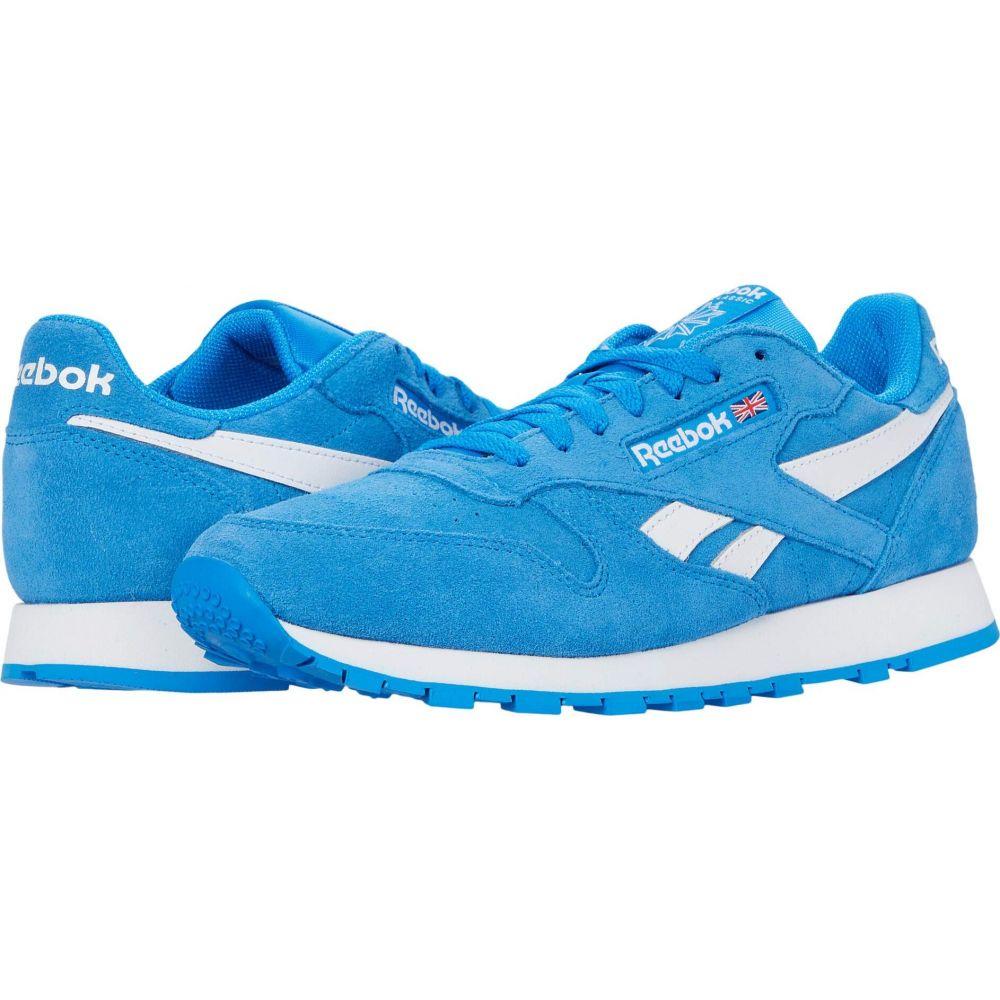 リーボック Reebok Lifestyle メンズ シューズ・靴 【Classic Leather】Horizon Blue/White/White