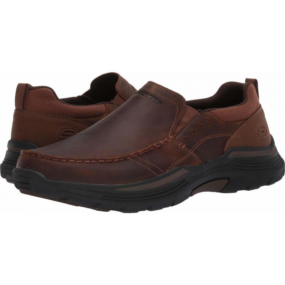 スケッチャーズ SKECHERS メンズ シューズ・靴 【Relaxed Fit Expended - Seveno】Dark Brown
