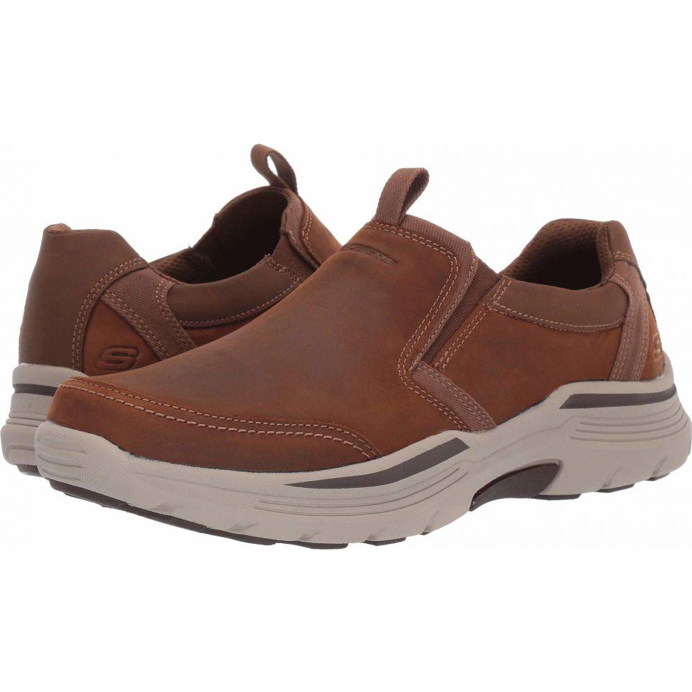 スケッチャーズ SKECHERS メンズ シューズ・靴 【Relaxed Fit Expended - Morgo】Dark Brown