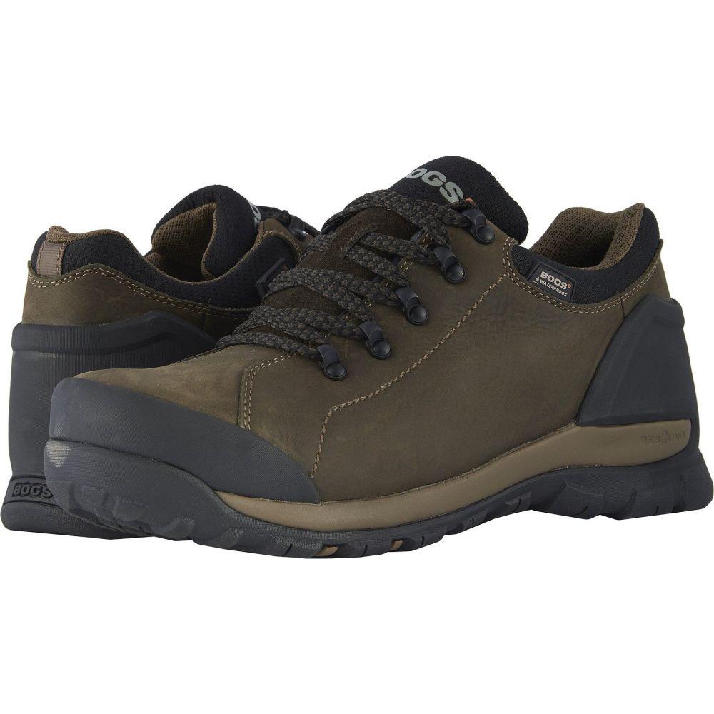 ボグス Bogs メンズ シューズ・靴 【Foundation Leather Low WP Soft Toe】Brown