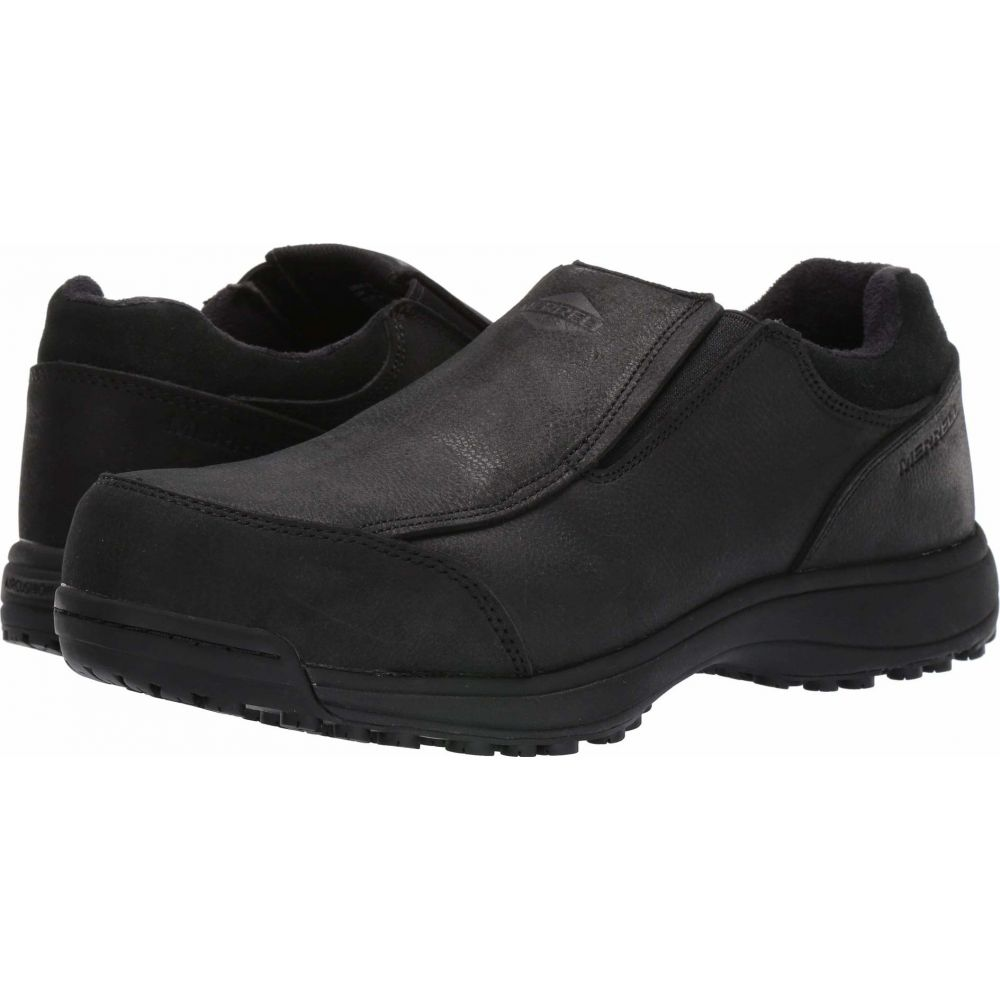 メレル Merrell Work メンズ シューズ・靴 【Sutton Moc Steel Toe】Black